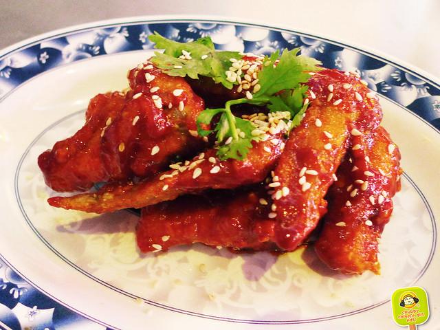 seoul chicken - gochujan buffalo wings