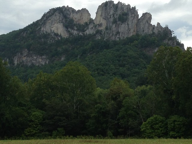 North and South Peaks, Seneca Rock