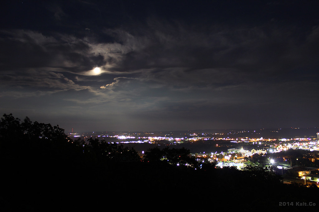Branson Missouri Supermoon Night