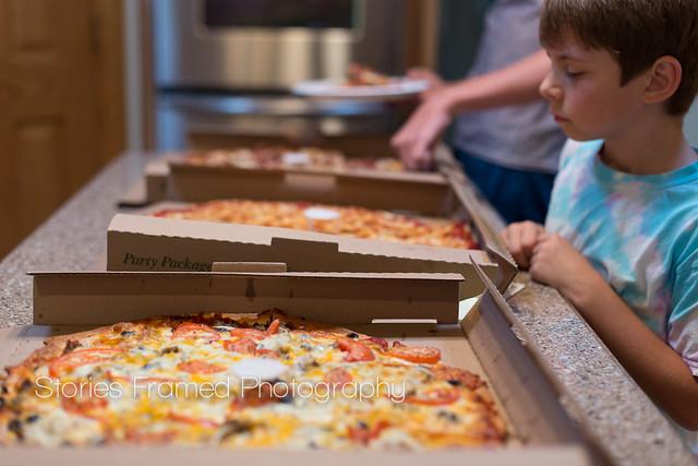 240.365 | pizza at nana's house.