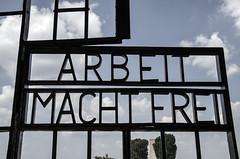 2. Sachsenhausen - arbeit macht frei-1927