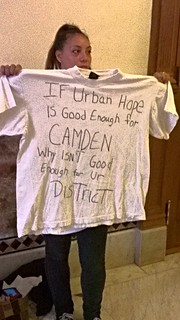 "Camden NJ parents protest ""Urban Hope Act"" at NJ Legislature"