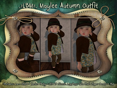 {LBM} Maylee Autumn Outfit Ad