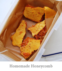 Homemade Honeycomb