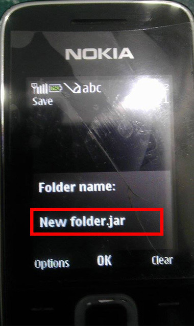 how-to-hide-unhide-folder-in-Nokia-Cellphone-step-3