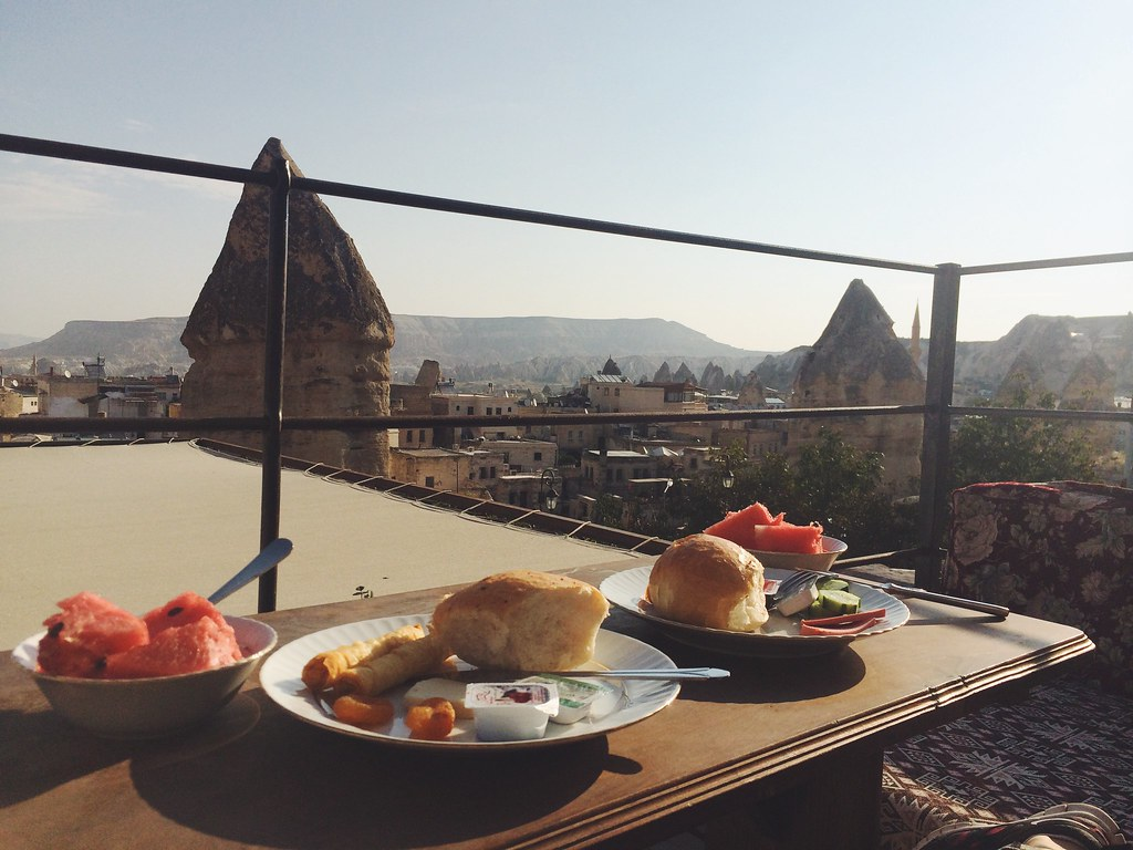 Hotellfrokost i Kappadokia