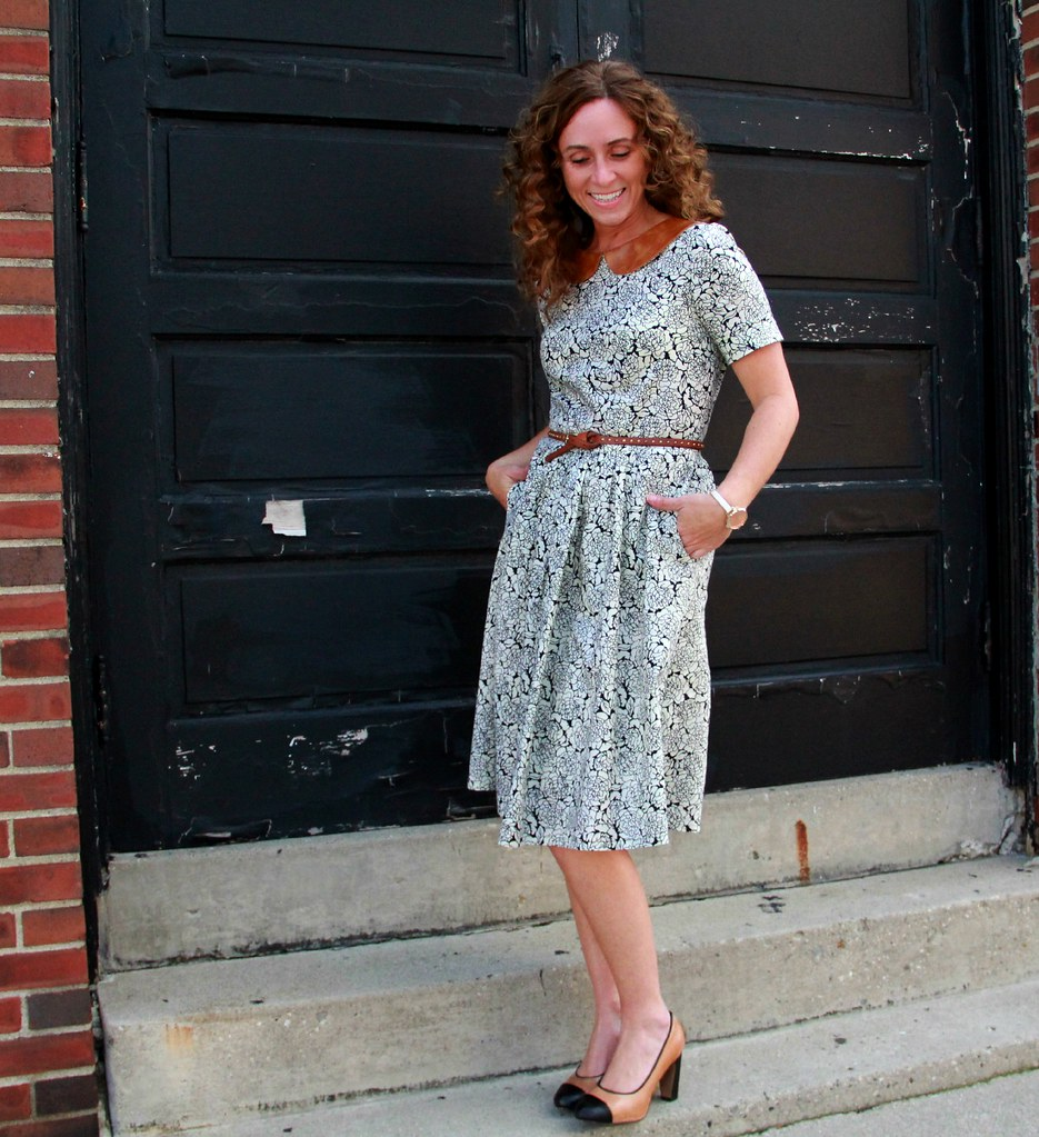 joann fabric sew your style dress via Kristina J blog
