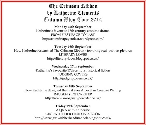 Crimson Ribbon Blog Tour