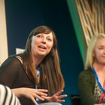 Rhiannon Cosslett and Holly Baxter, co-founders of The Vagenda blog |