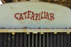 Caterpillar Tractor at the Baldwin Sugar Museum, Maui, HI 2014
