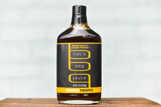 Hak's Habanero Pineapple BBQ Sauce