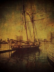 Brig in Tampa Harbor