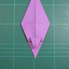 วิธีพับกระดาษเป็นรูปเต่าแบบง่าย (Easy Origami Turtle) 010