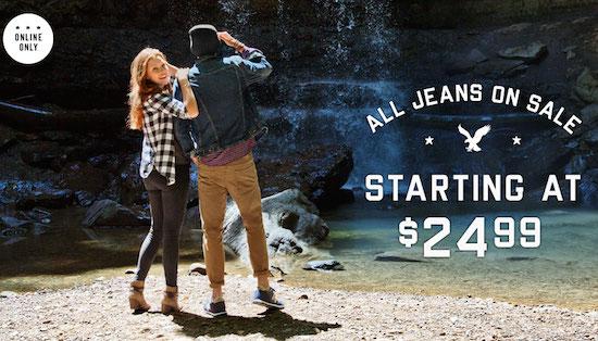 AEO Jeans Sale