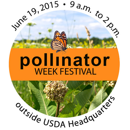 National Pollinator Week Festival sign