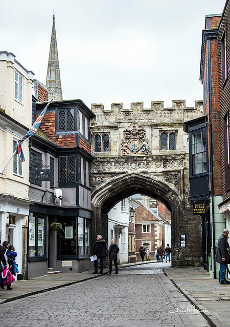 High Street, Salisbury Wiltshire UK