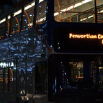 Lights on a Preston bus