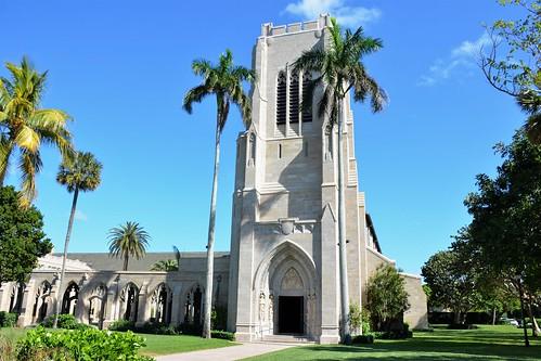 florida church palmbeachcounty palmbeachforida 1926 epsicopal bethesdabytheseaepiscopalchurch gothicrevivalstyle