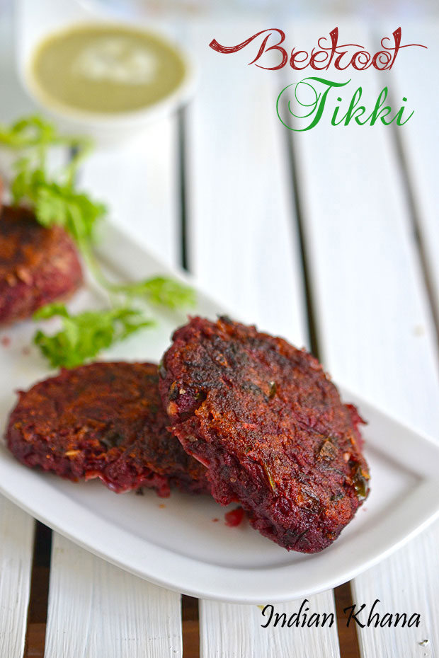Beetroot-Cutlet-Tikki-Recipe