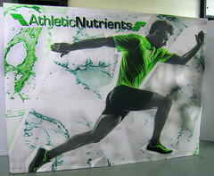 Athletic Nutrients Trade Show Display