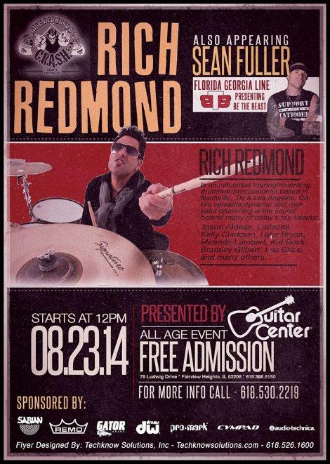 Rich Redmond 8-23-14