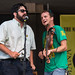 The Lost Bayou Ramblers at the Louisiana Cajun and Zydeco Festival, Louis Armstrong Park, New Orleans, June 15, 2014