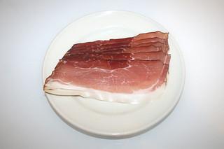 07 - Zutat geräucherter Schinken / Ingredient smoked ham bacon