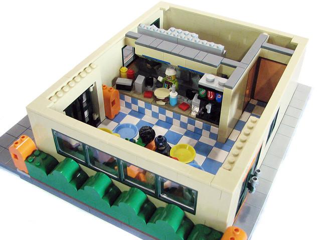 The Krusty Burger - Interior