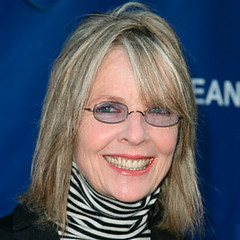 Actress Diane Keaton arrives at the Annual SeaChange Summer Part