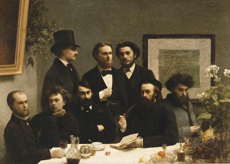 Henri Fantin-Latour - By the Table (1872)