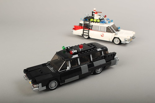 (Ghostbusters) 1959 Cadillac Miller-Meteor