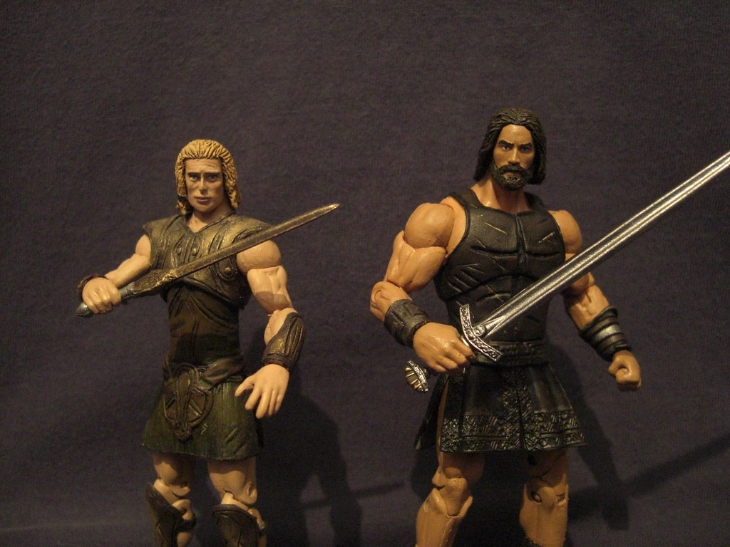 Toys For Troy : Achilles troy movie inch toy discussion at