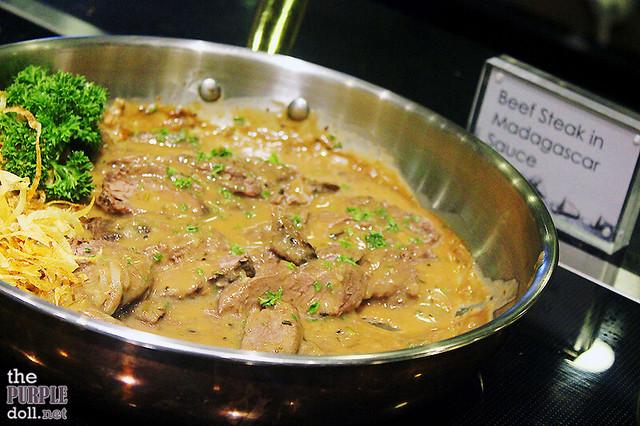 Beef Steak in Madagascar Sauce