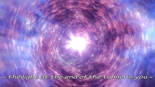 ~ the light at the end of the tunnel...