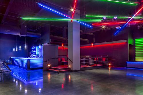 Shadeh Nightclub Design Custom Lighting Design The