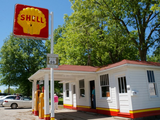 Soulsby Service Station - Route 66, Mt. Olive, Illinois