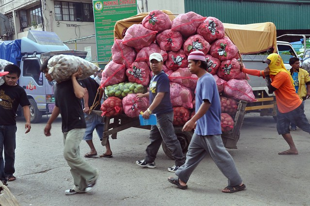 La Trinidad  Vegetable Market