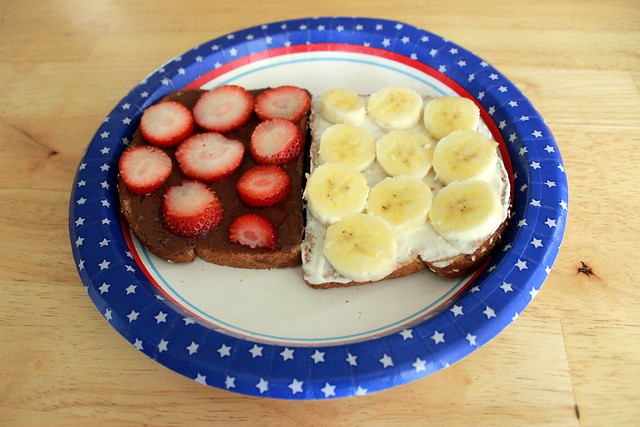 The banana split sandwich