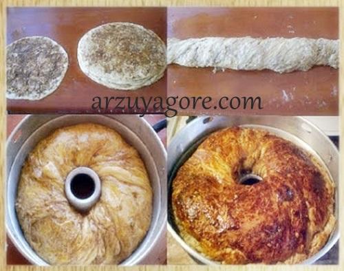 kek kalıbında çörek