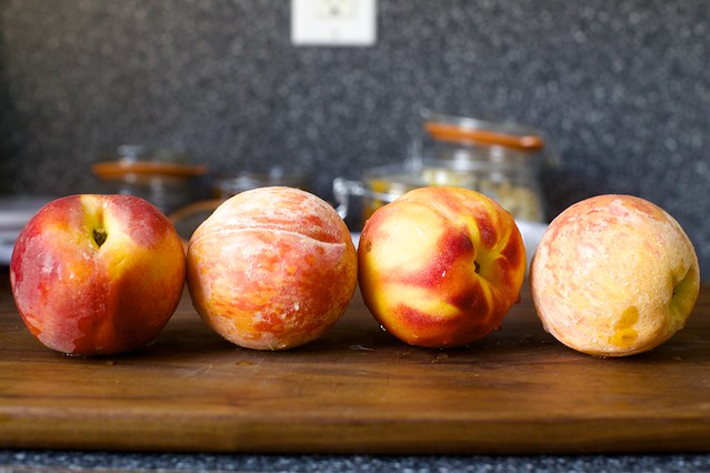 two jersey, two south carolina peaches