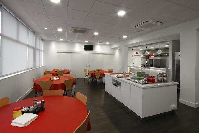Cocina de Fagor Industrial para el Athletic Club de Bilbao