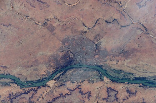 niger nasa ceo nigerriver niamey internationalspacestation crewearthobservations stationresearch