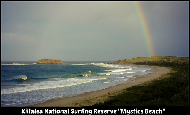 Killalea National Surfing Reserve Mystics Beach
