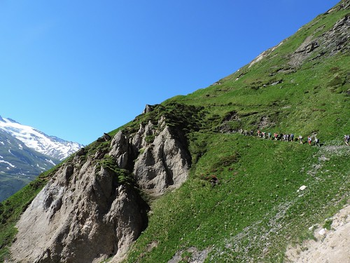 Montée au Petit Mt Blanc