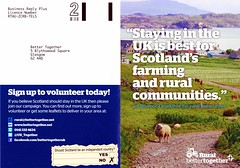 Rural Better Together leaflet, July 2014