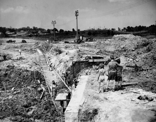 Swimming Pool Construction 1945 Oak Ridge