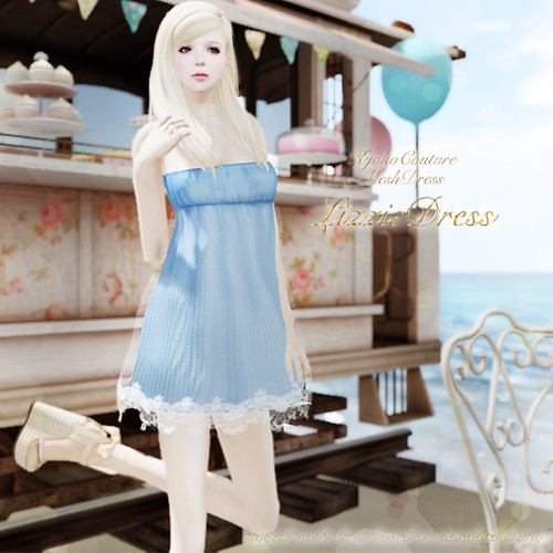 KC No.05[LizzieDress](Blue)