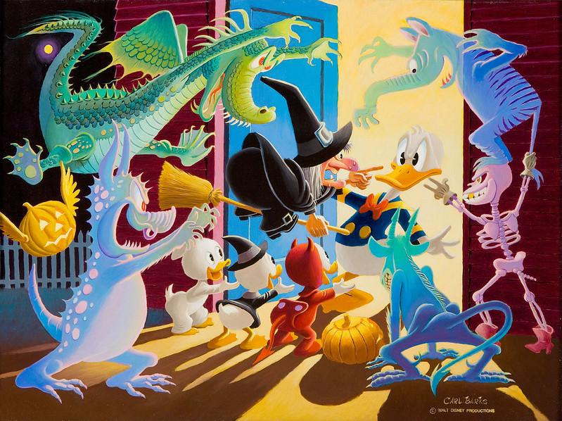 Carl Barks - Halloween in Duckburg, 1973