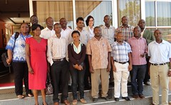2nd testing of training modules on pig production and business management workshop, 1-2 July 2014