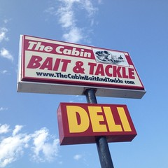 Breakfast at the bait & tackle/taxidermy/post office/deli. One stop shopping in Kuttawa.